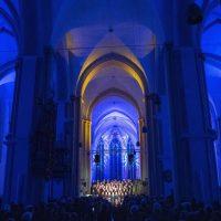 Ein Bilderbogen im Advent - das JuMUBS Weihnachtskonzert  Foto: Dominique Leppin